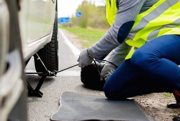 Flat Tire Assistance