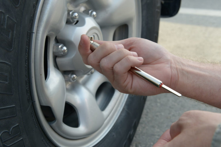 Check tire pressure routinely to maximize the life of your tires.